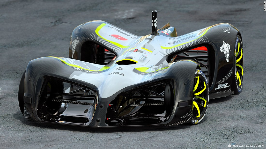 The car is predominantly made of carbon fiber and weighs 975 kilos. Designers believe the car will help change motorsport for the better, ushering in a cleaner, safer future.