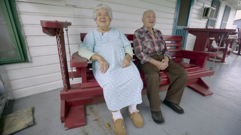 Growing old together on a sinking island