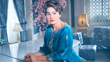 Jessica Lange tackles the role of Joan Crawford, the ultimate movie star.