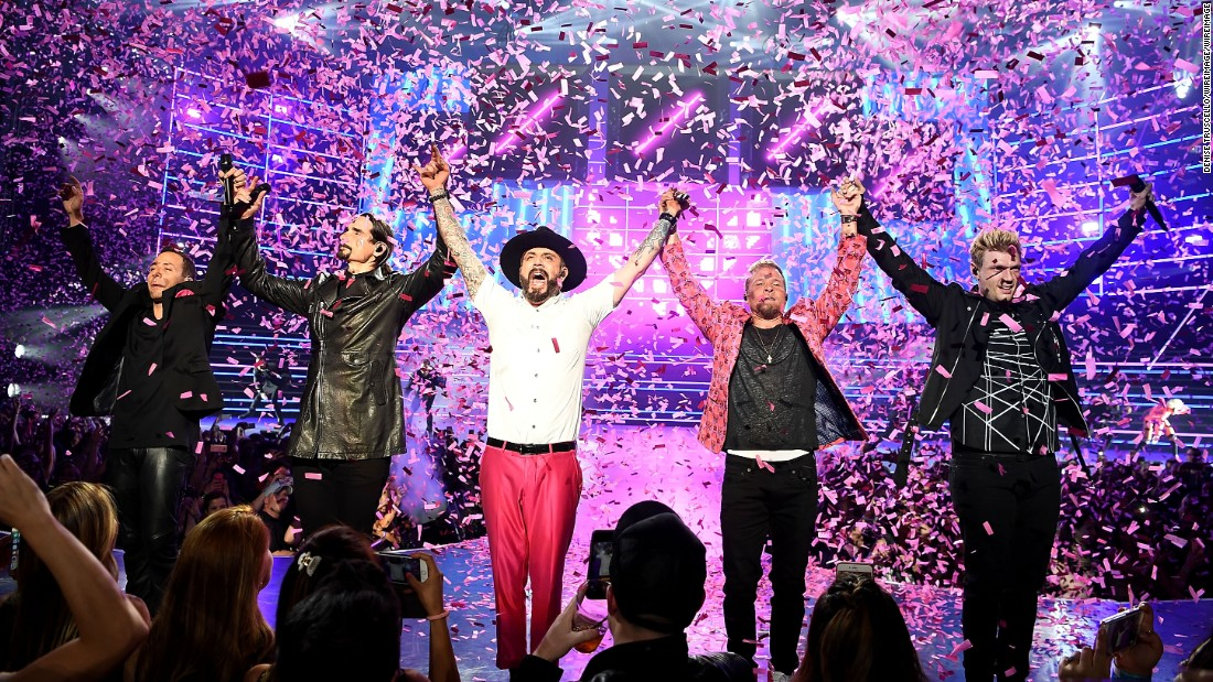 Backstreet Boys Nostalgia Back With New Las Vegas Residency