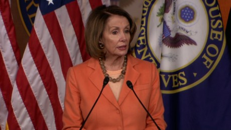 Nancy Pelosi: Sessions has proved he is unfit