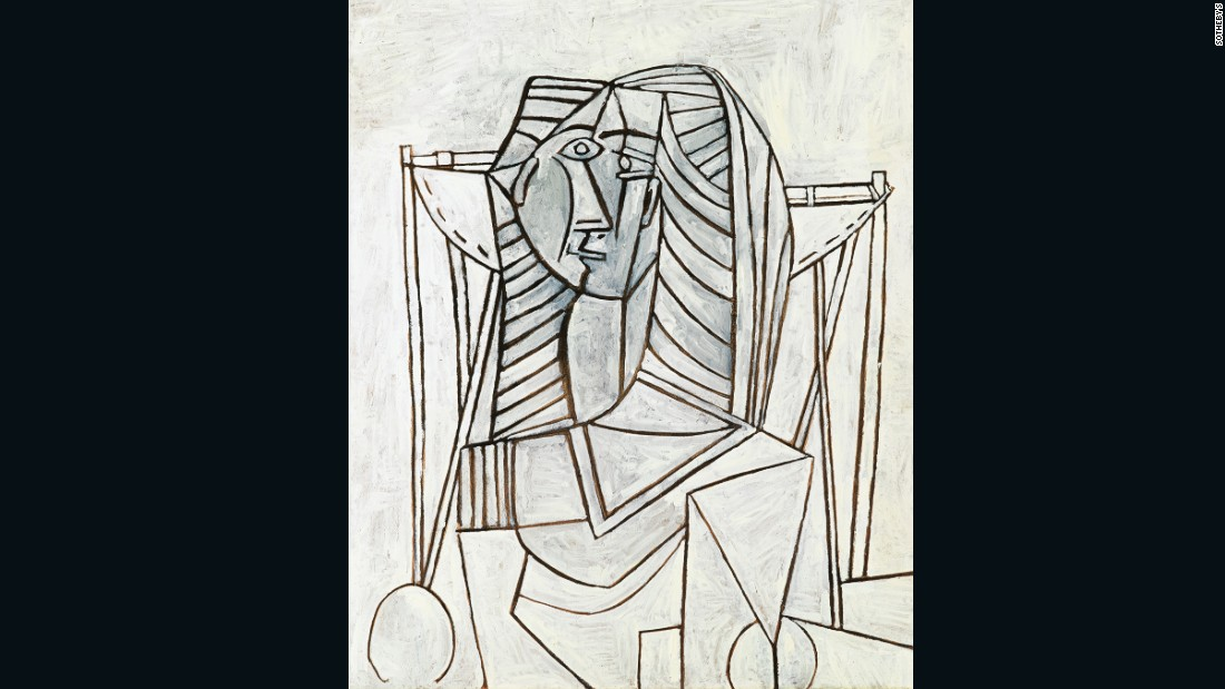 Sale price: $14,942,765 (£12,083,750) Estimate: $8m-$11.6m (£6.5m-£9.5m).
