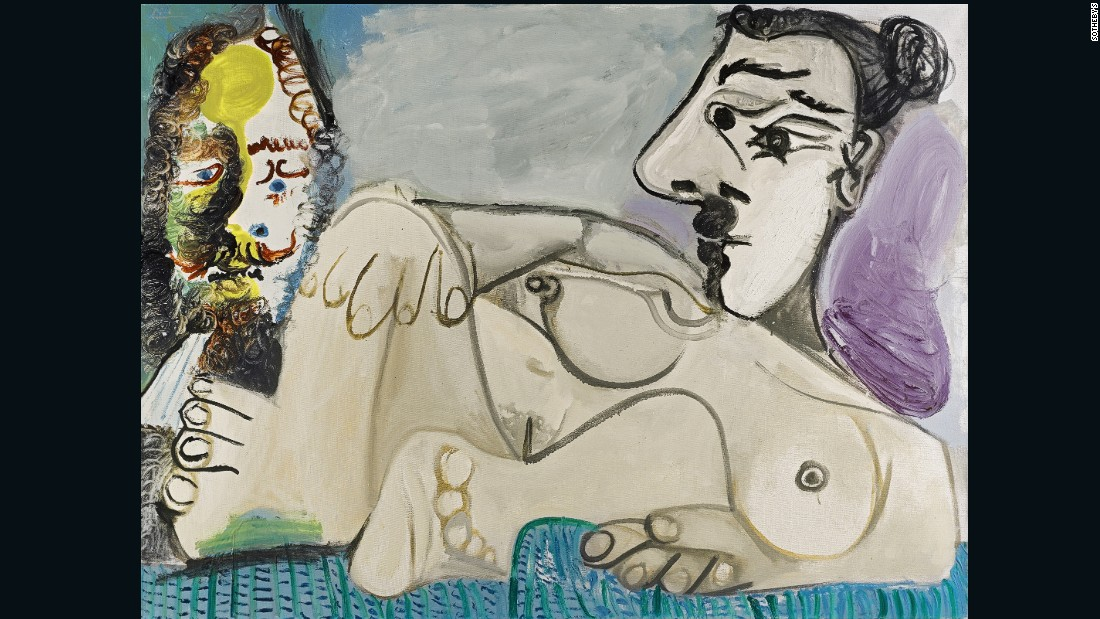 Sale price: $9,795,418 (£7,921,250) Estimate: $8m-$11.7m (£6.5m-£9.5m).