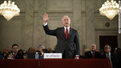 Sessions once criticized Clinton for perjury