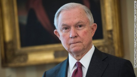 Attorney General Jeff Sessions was sworn in February 8.
