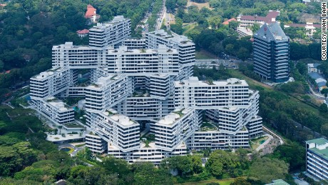 The Interlace, Singapore, OMA/Ole Scheeren. Principle photography by Iwan Baan