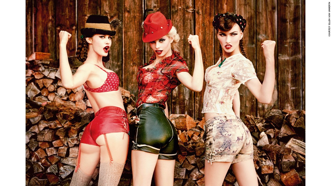"In her ""Heimat"" series, German photographer Ellen von Unwerth gives pastoral Bavaria a subversive twist."