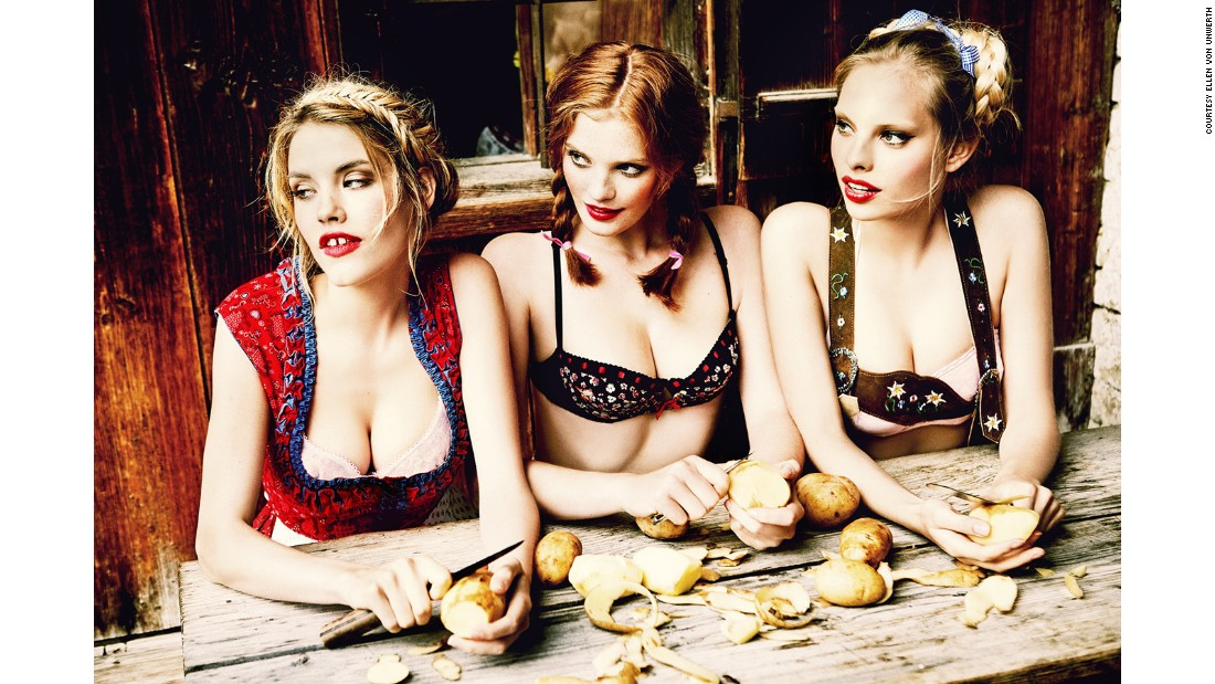 Von Unwerth set out to depict strong women enjoying themselves in a way that is both subversive and sexual.