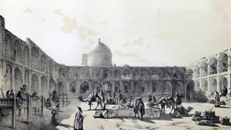 The Abassi was once a stop for Silk Road traders.