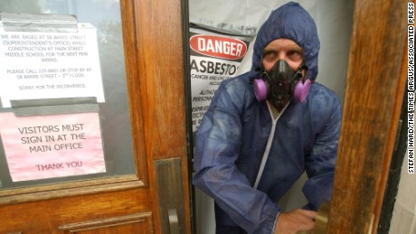 Asbestos exposure is still making people sick