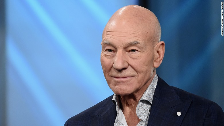 Why is Patrick Stewart becoming a US citizen?