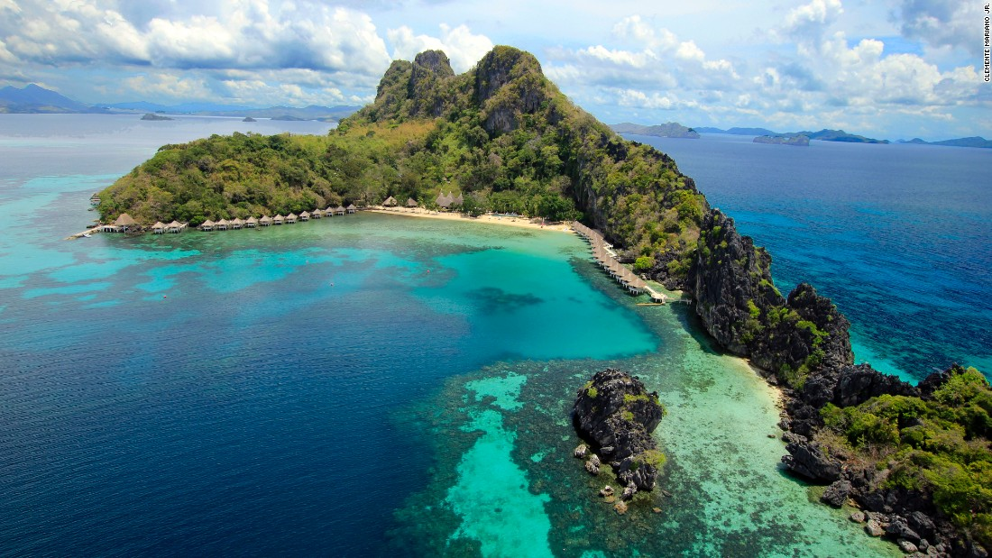 <strong>Apulit Island, El Nido: </strong>Situated on the eastern coast of Palawan in lesser-frequented Taytay Bay, this eco-adventure spot is surrounded by imposing limestone cliffs.