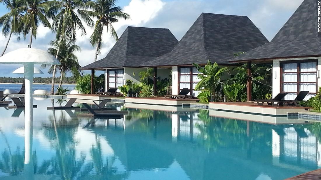 <strong>Siargao Bleu Resort & Spa, Siargao Island:</strong> A personal butler, airport transfers, poker nights, an outdoor cinema and a gorgeous pool -- Siargao Bleu Resort and Spa is a cut above the typical beach retreat.