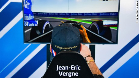| Photographer: Marta Rovatti Studihrad| Event: Marrakesh ePrix| Circuit: CIRCUIT INTERNATIONAL AUTOMOBILE MOULAY EL HASSAN| Location: Marrakesh| Series: FIA Formula E| Season: 2016-2017| Country: MA|| Session: Race||Driver: Jean-Eric Vergne| Team: Techeetah| Number: 25| Car: Renault Z.E 16|