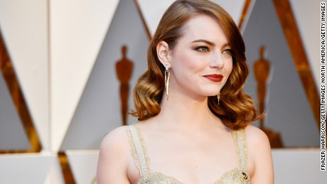 HOLLYWOOD, CA - FEBRUARY 26:  Actor Emma Stone attends the 89th Annual Academy Awards at Hollywood & Highland Center on February 26, 2017 in Hollywood, California.  (Photo by Frazer Harrison/Getty Images)