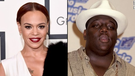 Faith Evans and Christopher Wallace