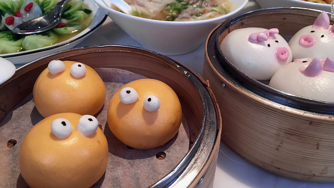 <strong>Modern takes: </strong>A new generation of Hong Kong restaurants -- like Yum Cha, pictured -- updates age-old recipes with premium ingredients and playful presentations.