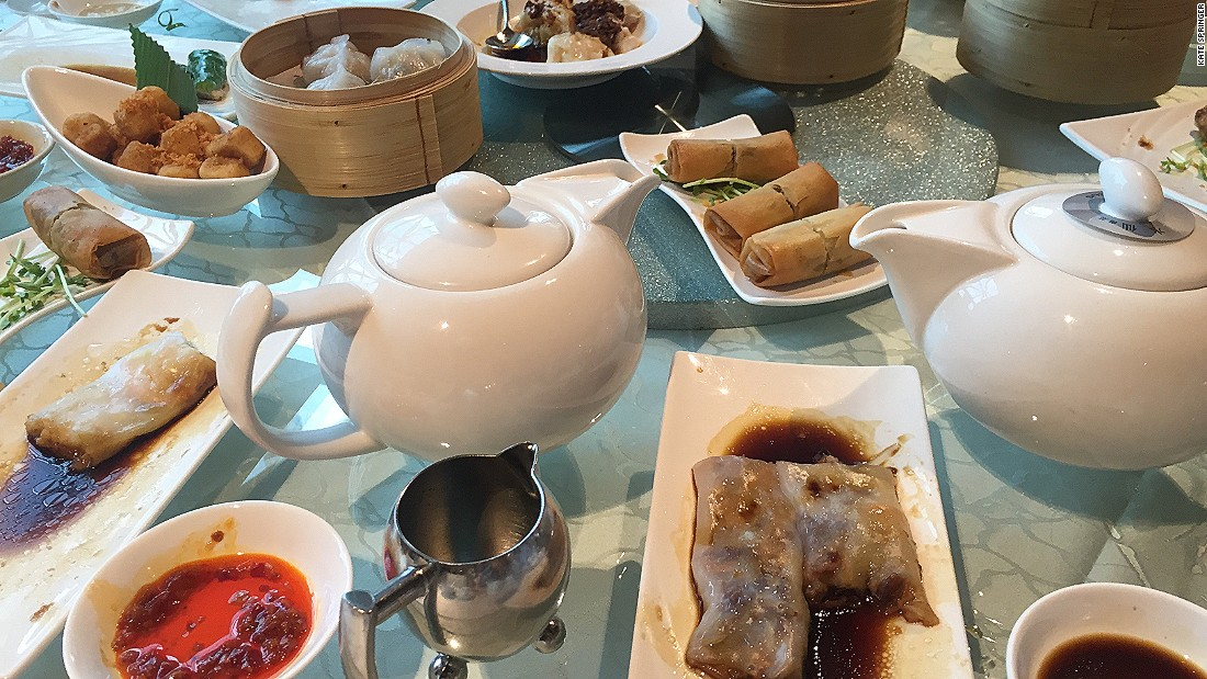 "<strong>Yum cha: </strong>Dim sum is a staple in every Cantonese diet. Referred to as ""yum cha,"" which literally means to ""drink tea,"" dim sum brings together friends and family, and even business associates."