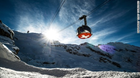 Titlis Rotair: Revolutions over the Swiss slopes.