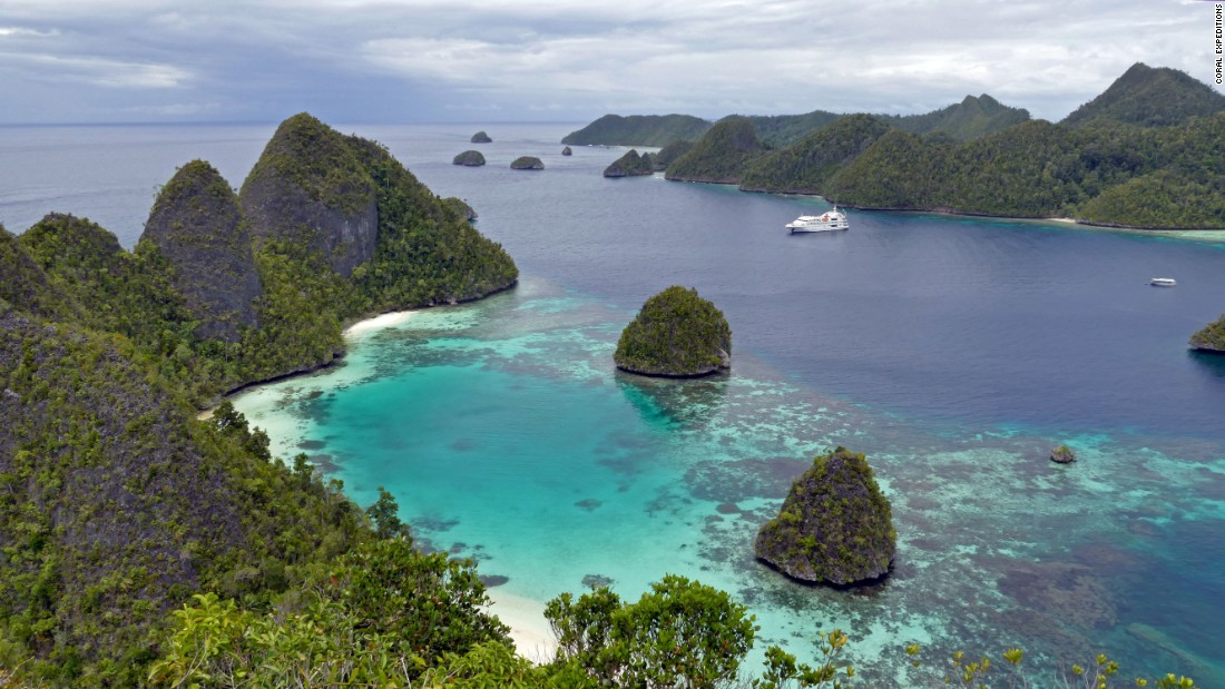 <strong>Raja Ampat, Indonesia:</strong> On land, Raja Ampat's dramatic karst topography is ripe for jungle walks and rock climbing.