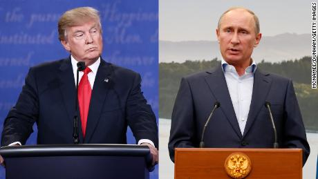 Putin 'didn't expect' Trump would win