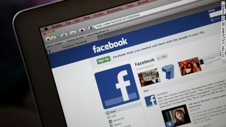 SAN ANSELMO, CA - MAY 09:  The Facebook website is displayed on a laptop computer on May 9, 2011 in San Anselmo, California.  An investigation by The Pew Research Center found that Facebook has become a player in the news industry as the popular social media site is driving an increasing amount of traffic to news web sites.  (Photo Illustration by Justin Sullivan/Getty Images)