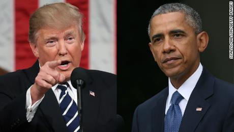 Trump demands apology, accuses Obama of having 'colluded or obstructed'
