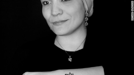 Marisol Razick's first Arabic tattoo was to remember her father.