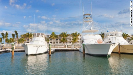 Oceans Edge Key West Hotel & Marina is a new property on Stock Island.