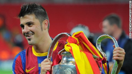 David Villa: Pep made me a better player