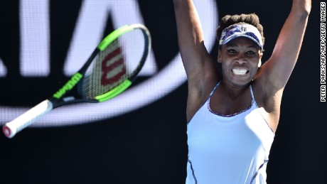 Williams is the oldest woman to reach an Australian Open final in the Open era