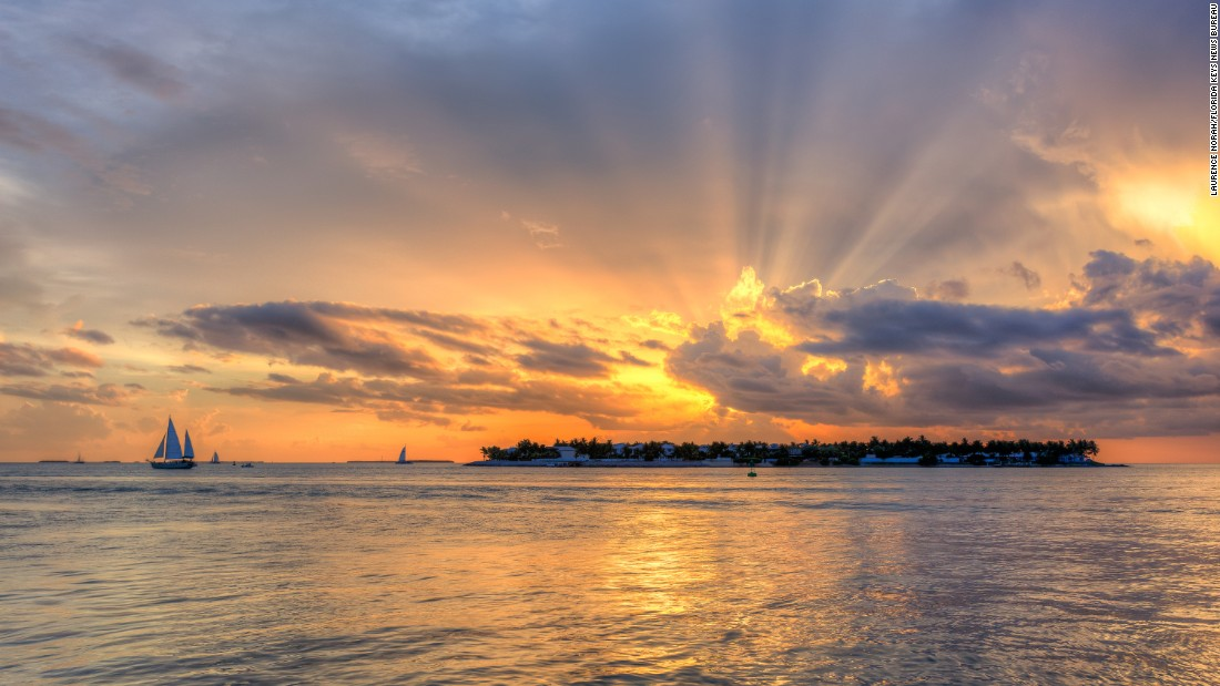 The view of Sunset Key from Mallory Square is a Key West sunset classic, but there are quieter places to welcome evening.