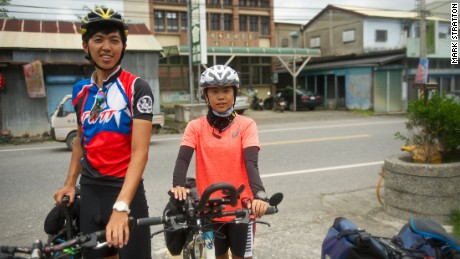 Taiwan's Route No.1 attracts cyclists of all ages.