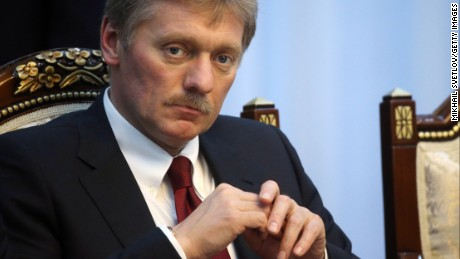 Russian Presidential Press Secretary Dmitry Peskov attends Russian-Kyrgyz talks in Bishkek,Kyrgtzstan, February,28,2017.