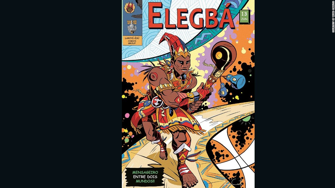 Elegba is the owner of all the doors and the roads of the world. He is on the borderline of humanity and divinity and he stores ashé (life-force or destiny).