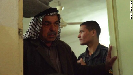 Abu Yassin's son was shot dead on a rooftop near where Arwa and Brice were sheltering.