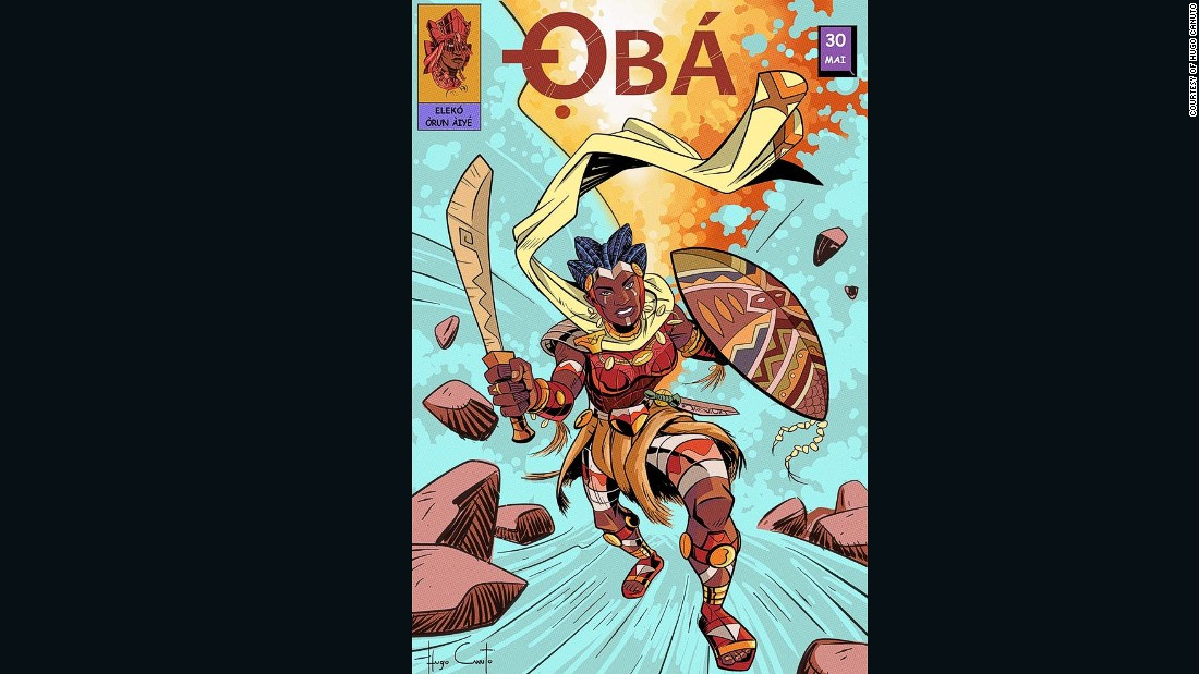 Oba is the goddess of rivers. She is the owner of the wheel and also represents the transformation of raw food to cooked food. Oba is considered one of the strongest gods, having beaten Oya, Oxumare and other orishas in battle.