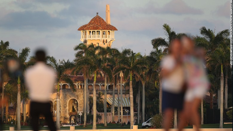 The Mar-a-Lago Resort as seen on February 11, 2017.