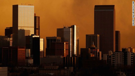 High winds strafed areas along Colorado's Front Range, which raised wildfire concerns.