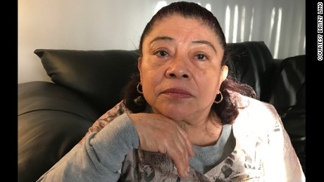 Francisca Lino's mother-in-law, Maria Burciaga, fears what would happen to their family if her son's wife were deported.