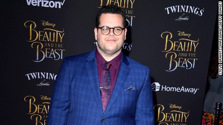 "LOS ANGELES, CA - MARCH 02:  Josh Gad  arrives a the Premiere Of Disney's ""Beauty And The Beast""  at El Capitan Theatre on March 2, 2017 in Los Angeles, California.  (Photo by Steve Granitz/WireImage)"