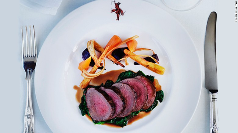 In addition to oysters, Rhug Estate beef is another star item on Wiltons' menu.
