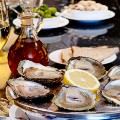 london oldest restaurants Wiltons -oysters only in focus