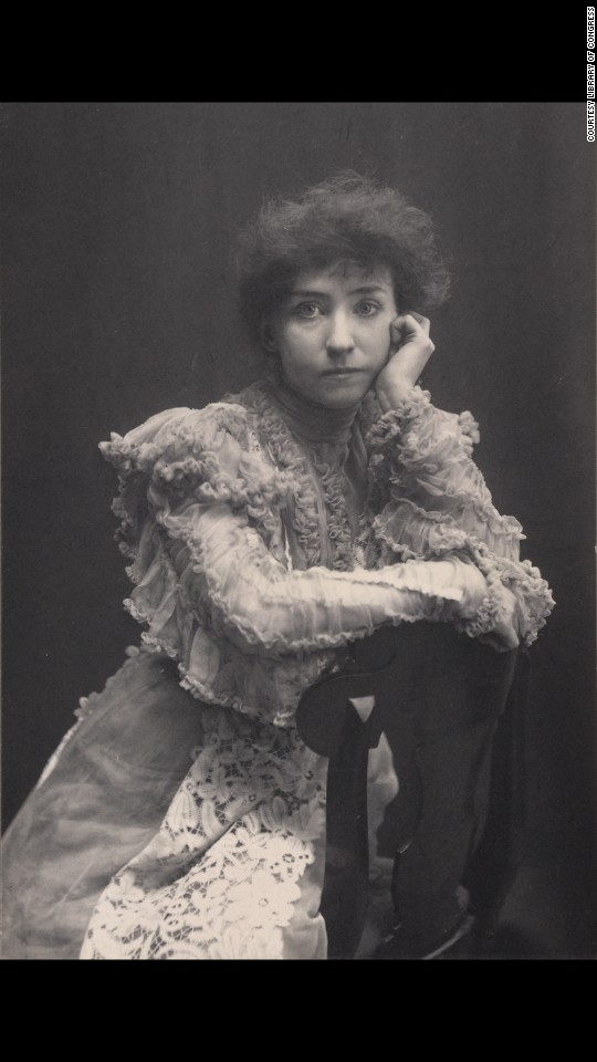 Minnie Maddern Fiske was a popular stage actress at the turn of the century.