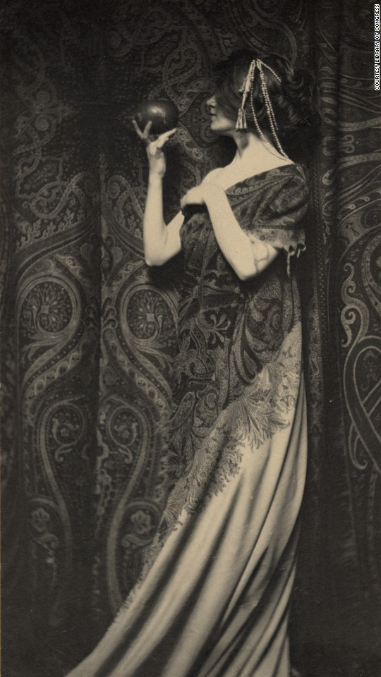 "Ben-Yusuf's work also included fine art photography and photo illustrations for various publications. This piece, ""The Odor of Pomegranates,"" was created in 1899. Ben-Yusuf ""was in the vanguard of women who became professional photographers as magazines reached massive circulation figures and photographs supplanted drawn illustration art,"" <a href=""https://www.loc.gov/rr/print/coll/womphotoj/ben-yusufessay.html"" target=""_blank"">according to the Library of Congress.</a>"