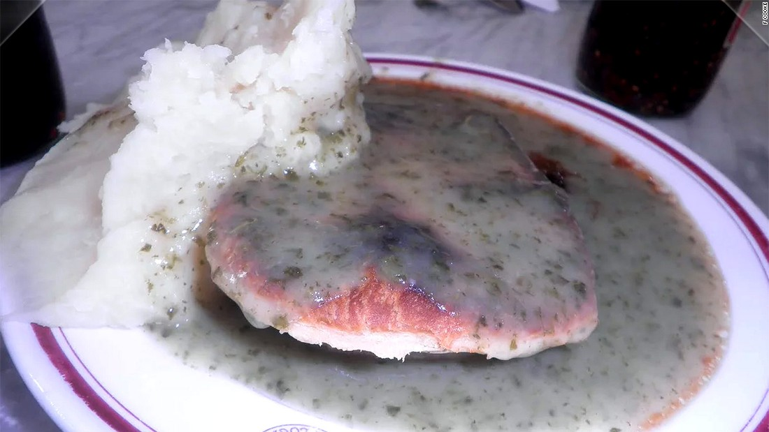 <strong>F Cooke: </strong> A family business now in its fourth generation, F Cooke still serves pie, mash and parsley sauce using an original recipe from 155 years ago.
