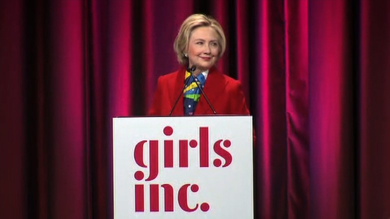 Clinton: Life hands all of us setbacks