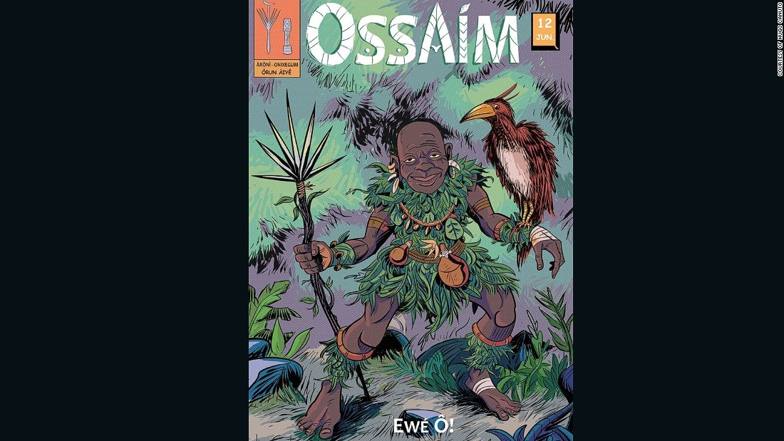 Ossaim is the god of herbs who holds the knowledge of the plants' secrets.