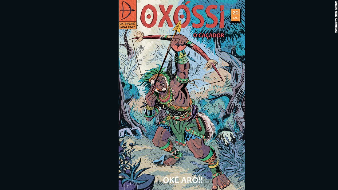Oxossi is the orisha of hunting, woods, animals and  food. He also loves the arts and contemplation.