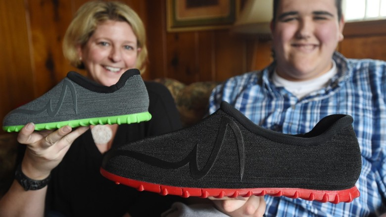 Size 28 teen gets world's biggest 3-D printed shoes - CNN.com